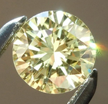 SOLD.....Loose Yellow Diamond: .37ct Fancy Light Yellow SI2 Round Brilliant GIA Stunning Stone R4896
