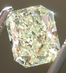 SOLD....Loose Yellow Diamond: 1.01ct S-T VS2 Radiant Cut GIA Wonderful Cut R4974