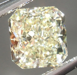 Loose Yellow Diamond: 1.12ct U-V VS2 Radiant Cut GIA Great Shape R4975