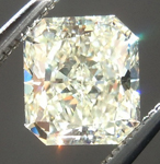 Loose Yellow Diamond: 1.06ct Q-R SI1 Radiant Cut GIA Wonderful Sparkle R4976