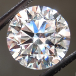 Loose Colorless Diamond: 3.73ct E VS2 Round Brilliant GIA Stunning Stone R5021