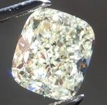 Loose Yellow Diamond: 1.52ct U-V VVS1 Cushion Cut GIA R5051