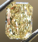 SOLD.....Loose Yellow Diamond: 1.05ct Fancy Yellow VS2 Radiant Cut GIA Tall Beauty R5077