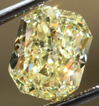 Loose Yellow Diamond: 3.01ct Fancy Yellow I1 Radiant Cut GIA Awesome Cut R5075