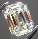 SOLD....Loose Diamond: 1.25ct L VS1 Emerald Cut GIA Beautiful Stone R5129