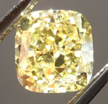 SOLD..... Loose Yellow Diamond: 1.02ct Fancy Intense Yellow VS1 Cushion Cut GIA Amazing Cut R5153