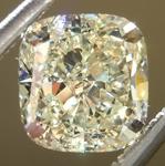 SOLD.....Loose Yellow Diamond: 1.15ct Y-Z VS1 Cushion Cut GIA Beautiful Cut R5035