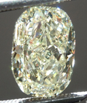SOLD...Loose Yellow Diamond: 2.01ct Y-Z SI1 Cushion Cut GIA Totally Eye Clean R5190