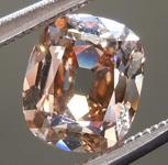 SOLD.... Old Mine Brilliant: 1.01ct Branded DBL Modern Antique Diamond GIA R5169