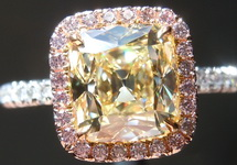 SOLD... 2.08ct U-V SI1 Old Mine Brilliant Diamond GIA R5170