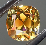 SOLD... .53ct Fancy Deep Brown-Greenish Yellow SI1 Branded DBL Modern Antique Diamond GIA R5176