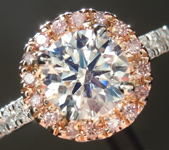 Crafted by Infinity Round Brilliant Diamond: 1.08ct G VS1 Ideal Cut AGSL R4906