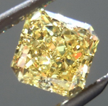 SOLD....Loose Yellow Diamond: .50ct Fancy Vivid Yellow VS2 Radiant Cut GIA Pure Hue R5203