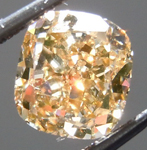 Loose Diamond: 1.13ct Fancy Brown Yellow SI1 Cushion Cut GIA Cool Color R5223