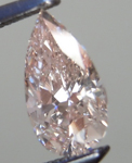 SOLD....Loose Pink Diamond: .50ct Fancy Light Brown Pink SI2 Pear Shape GIA Great Price R5142