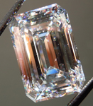Loose Colorless Diamond: 8.03ct E VVS2 Emerald Cut GIA Remarkable Stone R5246