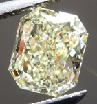 Loose Yellow Diamond: .91ct Y-Z  VS2 Radiant Cut GIA Awesome Stone R5260