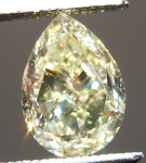 SOLD.... Loose Yellow Diamond: 1.00ct Fancy Light Yellow VS2 Pear Shape GIA Great Value R5201