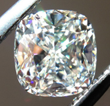 SOLD.... Loose Colorless Diamond: .57ct H VVS2 Cushion Cut GIA Amazing Cut R5315