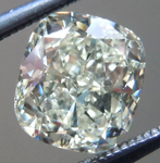 SOLD...Loose Cushion Cut Diamond: 1.54ct S-T VVS1 Cushion Cut GIA Great Cut Great Price R5320