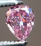 SOLD....Loose Purple Diamond: .11ct Fancy Grayish Pink-Purple SI2 Pear Shape GIA Amazing Color R5304