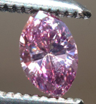 SOLD.... Loose Purple Diamond: .12ct Fancy Intense Pink-Purple SI2 Marquise GIA Remarkable Color R5306