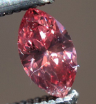SOLD... Loose Marquise Diamond: Fancy Deep Orangy Pink SI1 Marquise GIA Amazing Color R5308