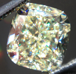 SOLD.... Loose Yellow Diamond: 2.01ct Y-Z, Natural Light Yellow Cushion Cut GIA Bright Stone R5324