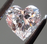 SOLD....Loose Pink Diamond: .59ct Faint Pink VS2 Heart Shape GIA Beautiful Cut R5265