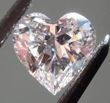 SOLD....Loose Pink Diamond: .59ct Faint Pink VS2 Heart Shape GIA Beautiful Cut R5265