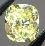 SOLD...Loose Yellow Diamond: .70ct Fancy Intense Yellow VVS2 Cushion Cut GIA Beautiful Cut R5335
