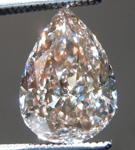 SOLD....Loose Pink Diamond: 1.25ct Fancy Pinkish Brown VS2 Pear Shape GIA Lively Stone R5338