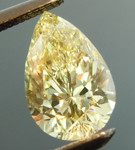 SOLD.... Loose Yellow Diamond: 1.01ct Fancy Yellow SI1 Pear Shape GIA Eye Clean R5333