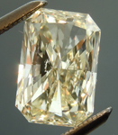 SOLD.... Loose Yellow Diamond: 1.43ct Q-R VS2 Radiant Cut GIA Unusual Cut R4781