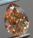 SOLD.... Loose Brown Diamond: .78ct Fancy Yellowish Brown VS2 Pear Shape Stunning Stone R5342