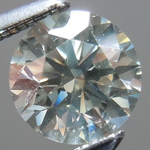 SOLD.....Loose Gray Diamond: .77ct Fancy Light Gray SI1 Round Brilliant GIA Rare Beauty R5345