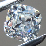 SOLD.....Loose Colorless Diamond: .61ct G VVS1 Old Mine Brilliant GIA Beautiful Cut R5369