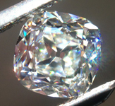 SOLD....Loose Colorless Diamond: .62ct H VVS2 Old Mine Brilliant GIA Amazing Sparkle R5370