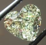 SOLD....Loose Yellow Diamond: 1.56ct W-X VS2 Heart Shape GIA Amazing Stone R5386