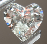 SOLD.....Loose Colorless Diamond: .45ct I VS2 Heart Shape GIA Beautiful Cut R5356