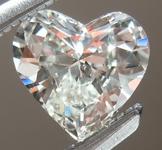 SOLD.....Loose Colorless Diamond: .45ct I VS2 Heart Shape GIA Beautiful Cut R5356
