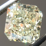 SOLD...Loose Yellow Diamond: 1.00ct W-X VS2 Radiant Cut GIA Lovely Color R5404