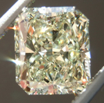 SOLD....Loose Yellow Diamond: 1.57ct W-X VS1 Radiant Cut GIA Fantastic Sparkle R5407