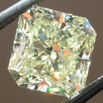 SOLD.....Loose Yellow Diamond: 1.55ct W-X VVS2 Radiant Cut GIA Wonderful Cut R5424