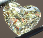 SOLD...Loose Yellow Diamond: 1.03ct Fancy Yellow SI2 Heart Shape GIA Perfect Shape R5433
