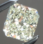 SOLD...Loose Diamond: .45ct N VS1 Radiant Cut GIA Soft Yellow Color R5460