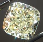 SOLD...Loose Yellow Diamond: 2.36ct W-X VVS1 Cushion Cut GIA Amazing Stone R5491