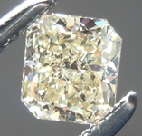 SOLD.....Loose Yellow Diamond: .34ct Y-Z, Natural Light Yellow SI1 Radiant Cut GIA Laser Inscribed R5475