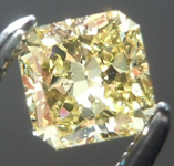 SOLD.......Loose Yellow Diamond: .42ct Fancy Intense Yellow VS1 Radiant Cut GIA Premium Stone R5443