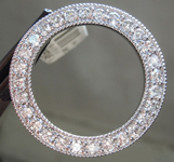 1.68ctw G SI Round Brilliant Diamond Circle Pendant R5548